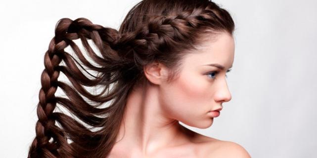 Как заплести красивую и модную косу самой