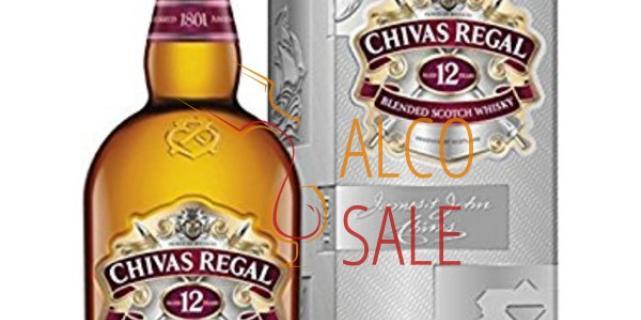 Виски Chivas Regal разной выдержки в интернет-магазине: alco-sale.com.ua