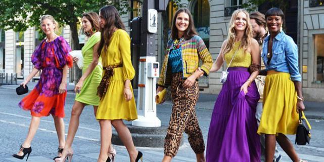 Главные правила сочетания цветов в одежде