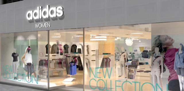 Первый женский магазин adidas открыт в Петербурге
