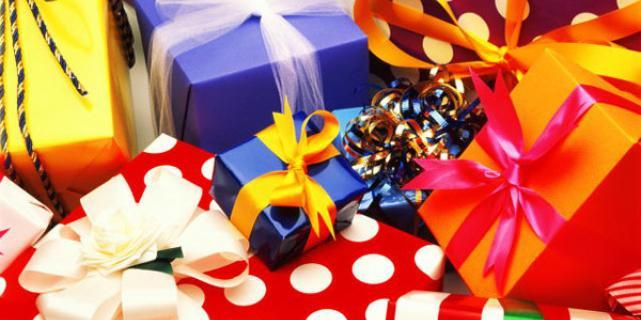 Когда подарков нужно много
