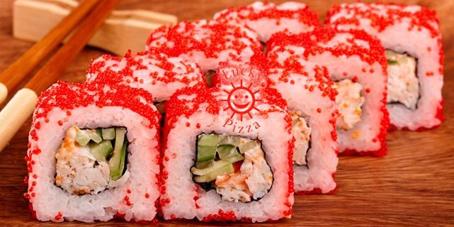 Тренды года - доставка роллы и суши