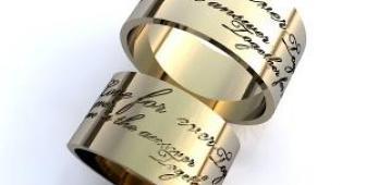Где купить хорошие и стильные обручальные кольца?