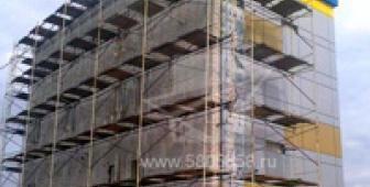 Установка и отделка навесных вентилируемых фасадов