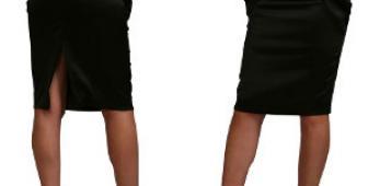 Что такое юбка карандаш?